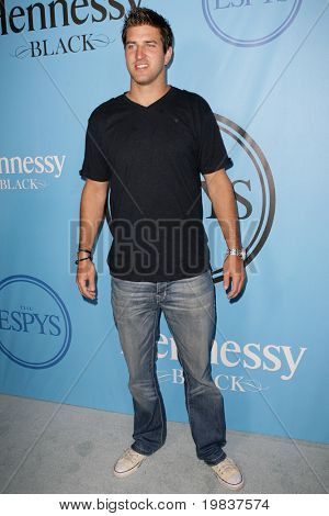 HOLLYWOOD, CA - JULY 13: Indianapolis Colts football player Tom Brandstater attends Fat Tuesday at The ESPYs on July 13, 2010 in Hollywood, CA.