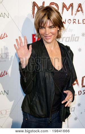 SANTA MONICA, CA. - FEB 22: American television host and actress Lisa Rinna arrives at the Nomad Two Worlds Los Angeles debut gala at 59 Pier Studios West on Feb 22, 2011 in Santa Monica, CA.