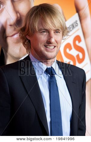 HOLLYWOOD, CA. - FEB 23: Owen Wilson arrives at the Cinerama Dome for the world premiere of Hall Pass on Feb 23, 2011 in Hollywood, CA.