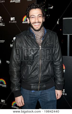 LOS ANGELES, CA. - MARCH 7: Adam Tsekhman arrives at Paramount Studios to celebrate the release of the Jackass 3 Blu-ray and DVD debut on March 7th 2011 in Los Angeles.