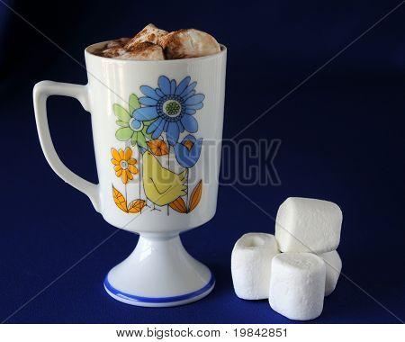 Mug And Marshmellows