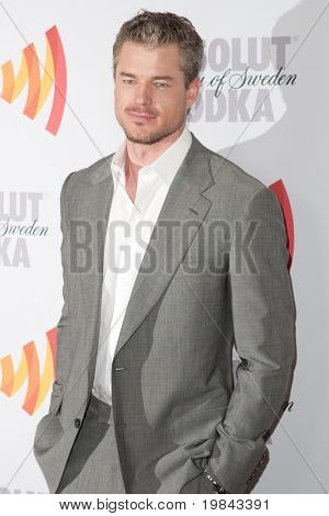 LOS ANGELES, CA. - APR 17: Actor Eric Dane arrives at the 21st Annual GLAAD Media Awards at Hyatt Regency Century Plaza Hotel on April 17, 2010 in Los Angeles, CA.