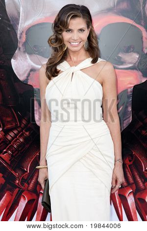 HOLLYWOOD, CA. - AUG 3: Charisma Carpenter arrives at The Expendables Los Angeles premiere at Grauman's Chinese Theater on August 3, 2010 in Hollywood, Ca.