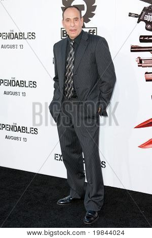HOLLYWOOD, CA. - AUG 3: Nestor Serrano arrives at The Expendables Los Angeles premiere at Grauman's Chinese Theater on August 3, 2010 in Hollywood, Ca.