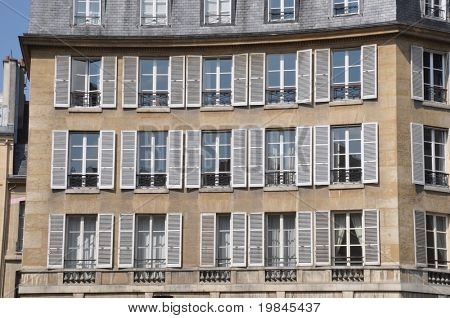 A parisian building