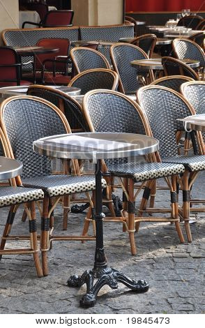 A Parisian cafe