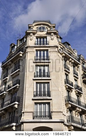 Parisian building