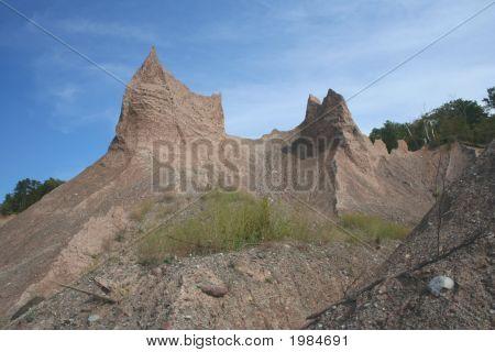Chimney Bluffs 1