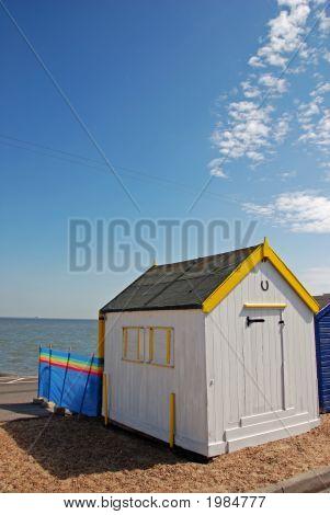 English Beach Hut
