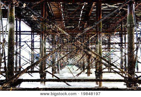 Under the Brighton Pier
