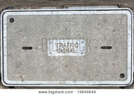 The control box for a traffic signal