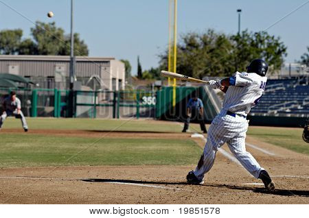 MESA, AZ - NOV 20: Darwin Barney of the Mesa Solar Sox swings at a pitch in the Arizona Fall League baseball game with the Scottsdale Scorpions on November 20, 2008 in Mesa, Arizona.