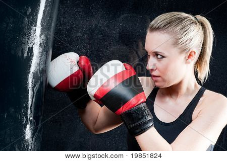 Boxing Training Woman
