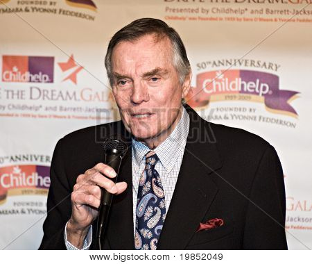 SCOTTSDALE, AZ - JANUARY 10: Hollywood Squares host Peter Marshall at the Childhelp Drive the Dream Gala on January 10, 2009 in Scottsdale, AZ.
