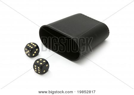 Dice With Dice Cup