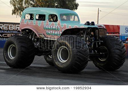 CHANDLER, AZ - APRIL 25: The monster truck