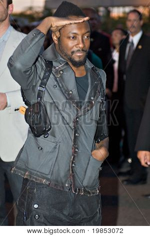 TEMPE, AZ - APRIL 27: Actor will.i.am appears at the premiere of X-Men Origins: Wolverine on April 27, 2009 in Tempe, AZ.
