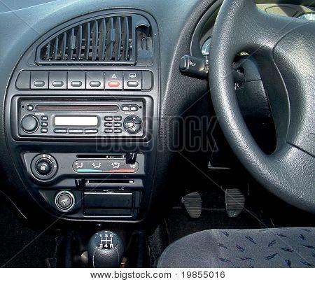 Car Dashboard.