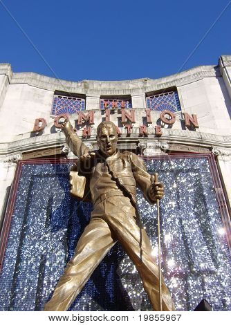Freddie at Dominion theatre, London
