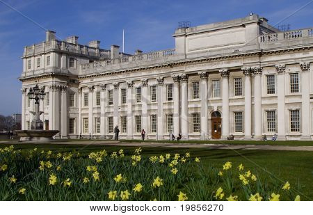 Royal naval college, london