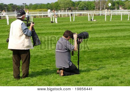 Working photographers