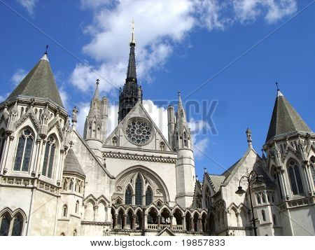 London law courts