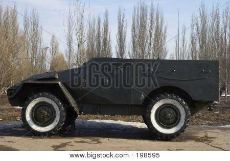 Russian Army Land-rover