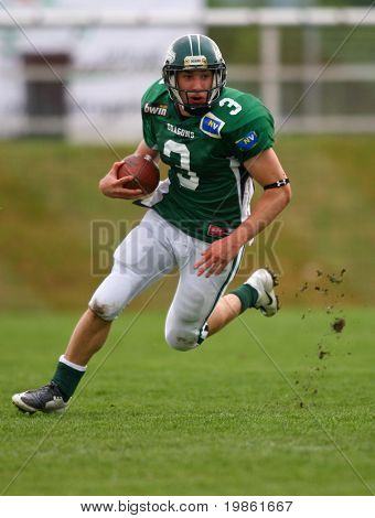Austrian Football League - Danube Dragons playing against the Tirol Raiders - May 2008