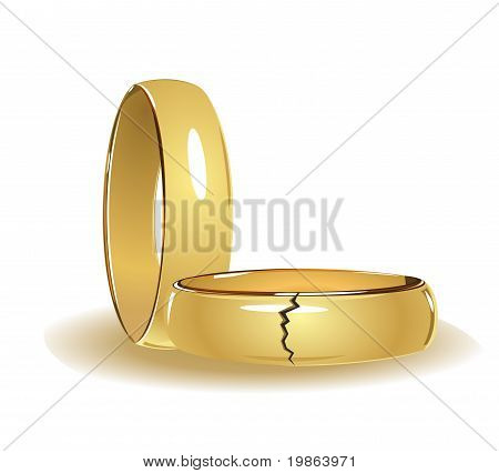 Broken Wedding Rings
