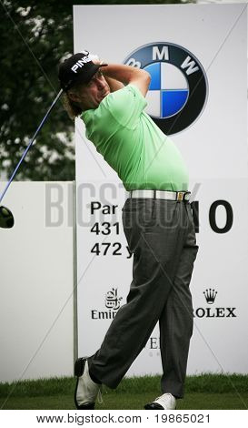 Spain's Miguel Angel Jimenez competing at the PGA European Tour BMW Open Golf Munich Germany 19 - 22 June 2008 at the Golf Club Munchen Eichenried