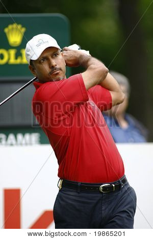 Jeev Milkha Singh competes at the PGA European Tour BMW Open Golf Munich Germany 19 - 22 June 2008 at the Golf Club Munchen Eichenried