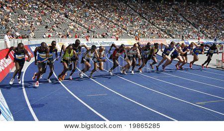 Istaf Berlin International Golden League Athletics held at Berlin's Olympia Stadium (Olympic Stadium) 1st June 2008