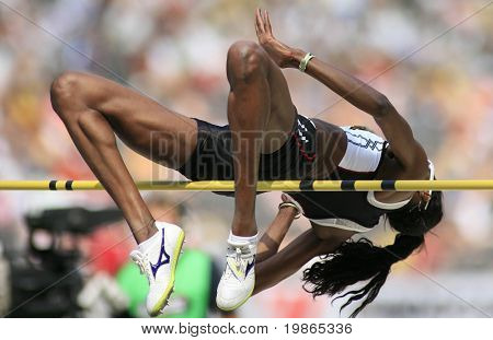 Istaf Berlin International Golden League Athletics held at Berlin's Olympia Stadium (Olympic Stadium) 1st June 2008