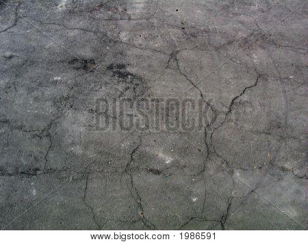 Cracked Asphault