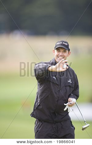 KENT UK JULY 6. Ireland's Padraig Harrington competing at the PGA European Tour European Open at the London Golf Club Ash Kent England from the 2nd to 6th July 2008
