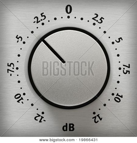 Volume Knob Close-up