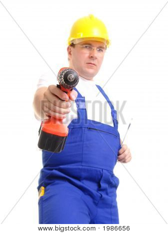 Builder With Driller