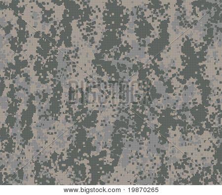 Digital Camouflage Pattern Green