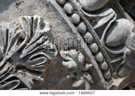 A Piece Of An Ancient Pillar