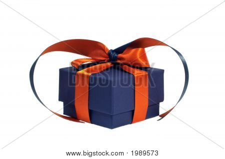 Small Present Box Isolated