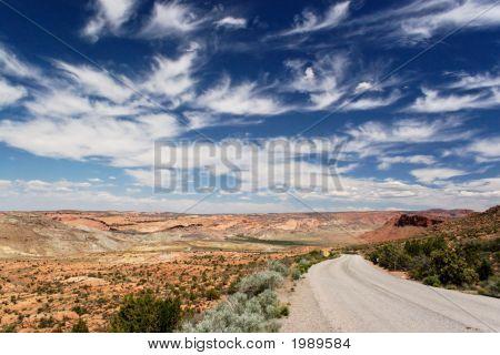 Heading South In Utah