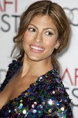 HOLLYWOOD, CA. - NOVEMBER 4: Eva Mendes attends the AFI Fest screening of Bad Lieutenant: Port of Ca