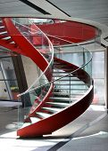 pic of spiral staircase  - Spiral staircase - JPG