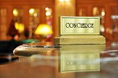 image of politeness  - Concierge desk - JPG