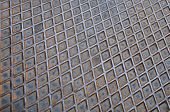 pic of arriere-plan  - Steel texture diamond shaped - JPG