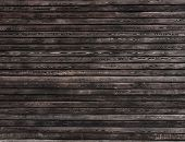 stock photo of naturel  - Dark wood wall background - JPG