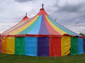 image of circus tent  - Circus big top - JPG