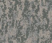 stock photo of camo  - Digital camo swatch in greens to represent the U - JPG