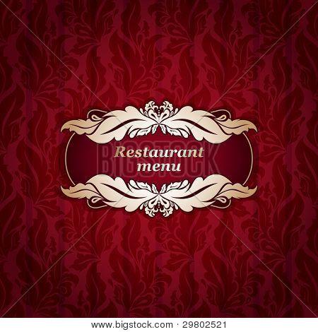 Restaurant Menu Design, Seamless Vector & Photo | Bigstock