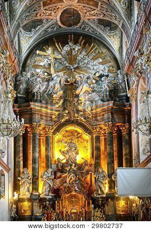 Basílica de Jasna Gora em Czestochowa Polônia